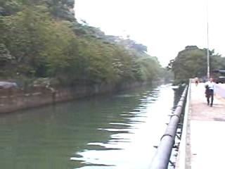 This canal was cleaner than canals in Thailand