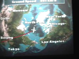 Another channel told air speed, altitude,