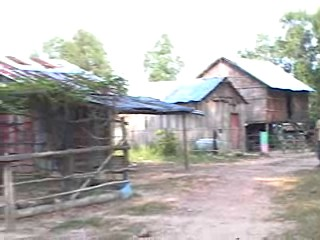 Buildings in a small village outside of town
