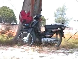 This little Honda 125 was great
