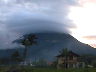 Arenal Volcano was shrouded