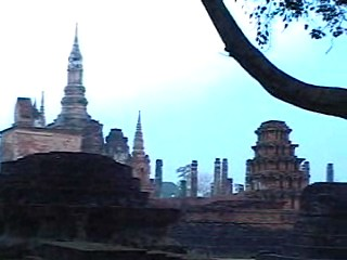 Main temple in the first capitol of Thailand